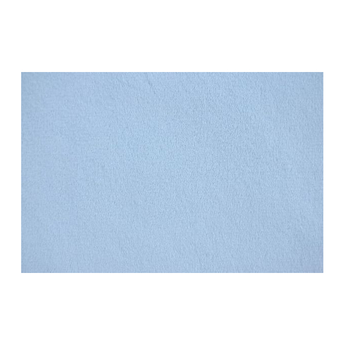 Minky Light Blue (per meter)