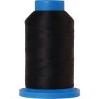 Mettler Seraflock Wolly Thread (100m) Color #4000 Black