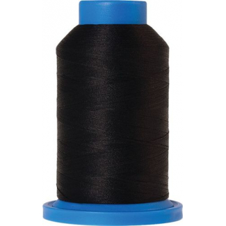 Mettler Seraflock Wolly Thread (100m) Color #4000 Black