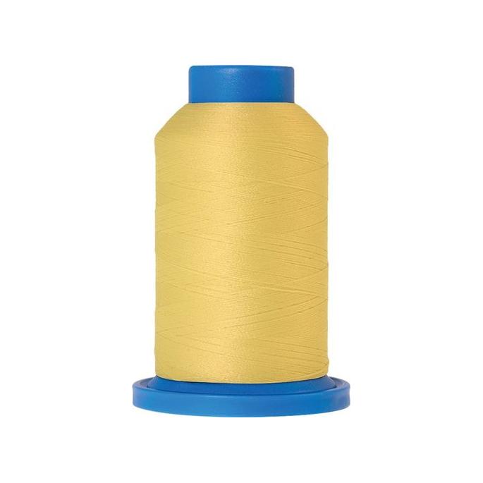 Mettler Seraflock Wolly Thread (100m) Color #0114 Jaune Clair