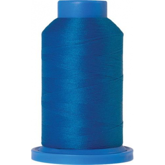 Mettler Seraflock Wolly Thread (100m) Color #0337 Bleu Moyen