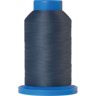 Fil mousse Mettler Seraflock 1000m Couleur n°5022 Bleu Gris
