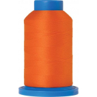 Mettler Seraflock Wolly Thread (100m) Color #2260 Orange