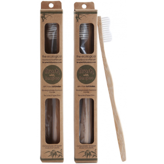 Bamboo toothbrush : the ecological toothbrush (child size x 1)