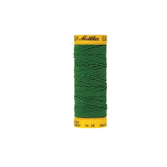 Fil à coudre élastique Mettler 1000m Vert (10m)