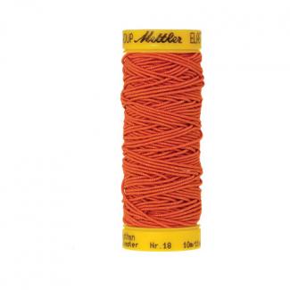 Fil à coudre élastique Mettler 1000m Orange (10m)