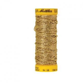 Mettler Elastic Sewing Thread Gold (10m)