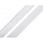 Scratch 3.8cm BOUCLE et CROCHET Blanc (au mètre)