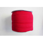 Fold Over Elastic 1 inch Red (100m roll)