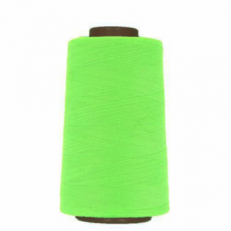Cône fil polyester Vert Fluo (4573m)