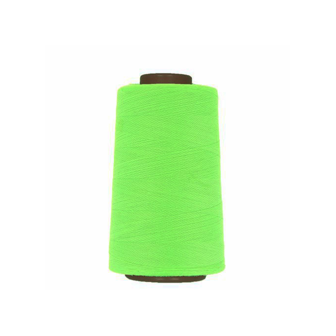 Polyester Serger and sewing Thread Cone (4573m) Neon Green