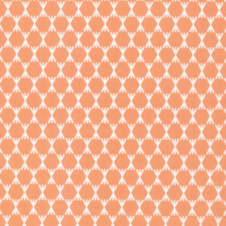 Organic cotton print Foxglove Stem Dot Pink Cloud9