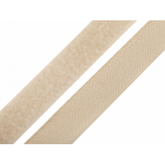 Scratch 3.0cm HOOK & LOOP Beige (per meter)