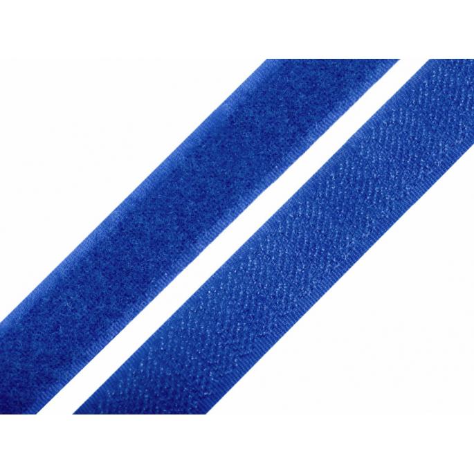 Scratch 3.0cm HOOK & LOOP Royal Blue (per meter)