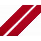 Scratch 3.0cm BOUCLE et CROCHET Rouge Foncé (au mètre)