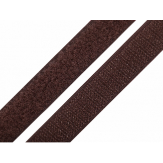 Scratch 3.0cm HOOK & LOOP Brown (per meter)