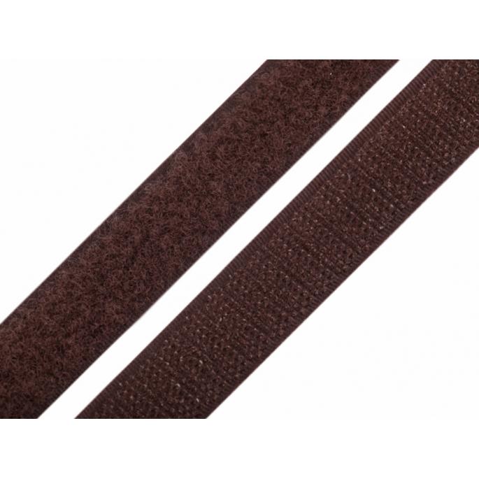 Scratch 3.0cm HOOK & LOOP Brown (per meter)