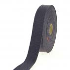 Sangle coton 23mm Gris Foncé (au mètre)
