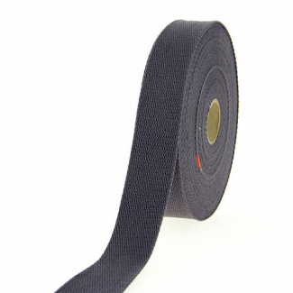 Cotton Webbing 23mm Dark Grey(by meter)
