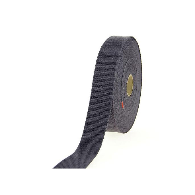 Sangle coton 30mm Gris Foncé (bobine 15m)