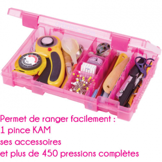 Medium Storage Box for KAM pliers by ARTBIN - pink