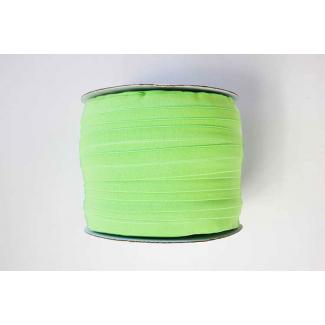 Biais élastique 2.5cm Vert pistache (Bobine 100m)