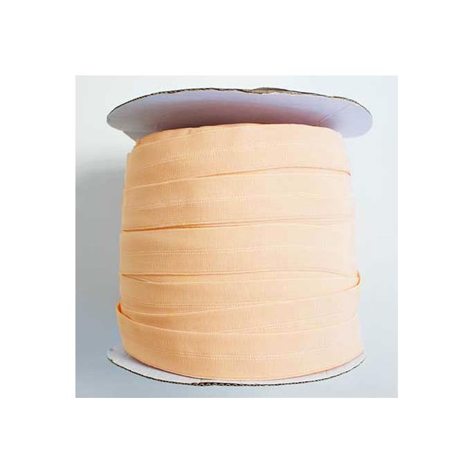 Fold Over Elastic 1 inch Peach (100m roll)