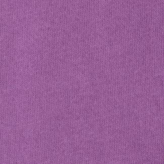 Purple organic cotton fleece