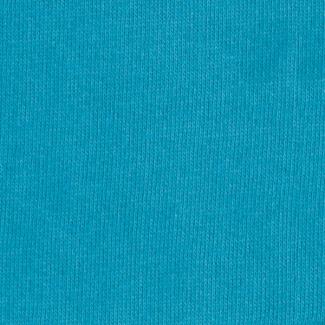 Molleton de coton Bio GOTS 365g Bleu Atoll (au mètre)