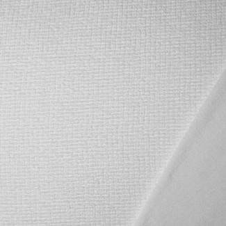 Microfibre Eponge Oekotex Laize 150cm Blanche (au mètre)