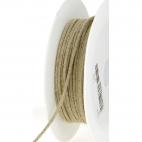 Cordon 100% lin 3mm (au mètre)