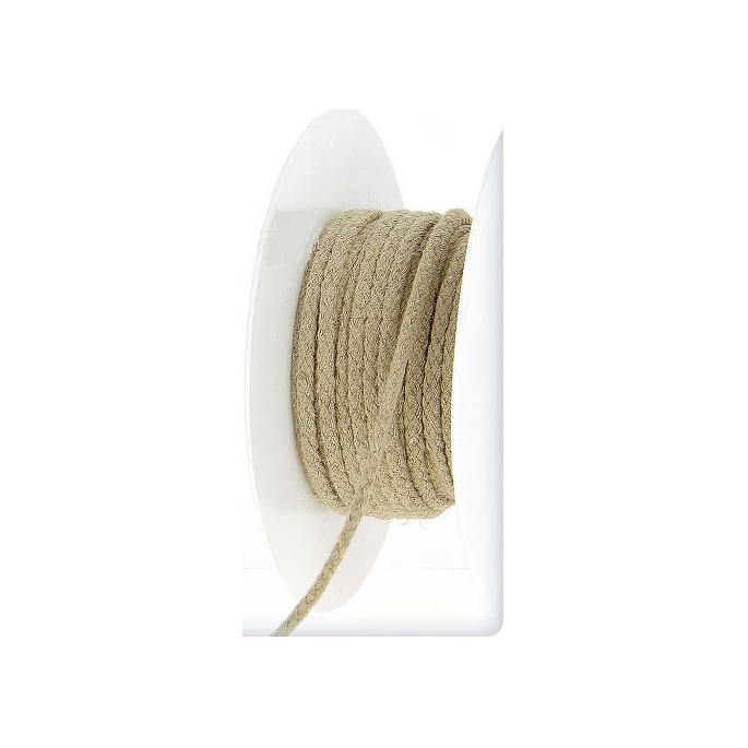 Cordon 100% lin 4mm (au mètre)