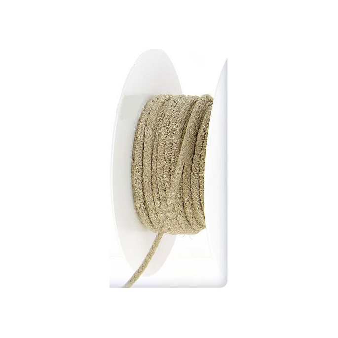 Cordon 100% lin 4mm (bobine 25m )