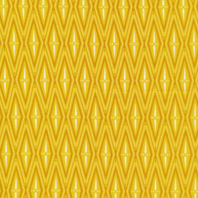 Organic cotton print Bohemian Garden Marigold Musings Cloud9