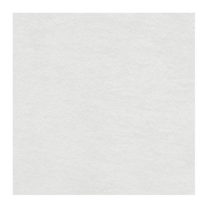 White GOTS organic cotton micro loop terry