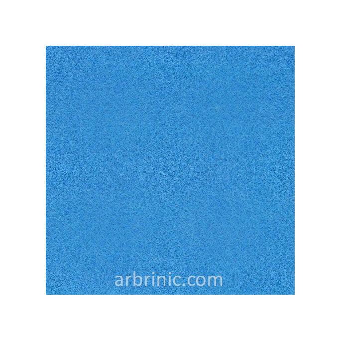 Feutrine Feuille A4 Bleu