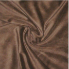 Velours cotton Oekotex Chocolate (by meter)
