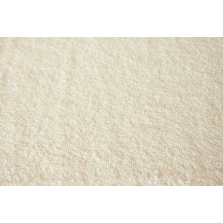 Eggshell organic cotton bath terry