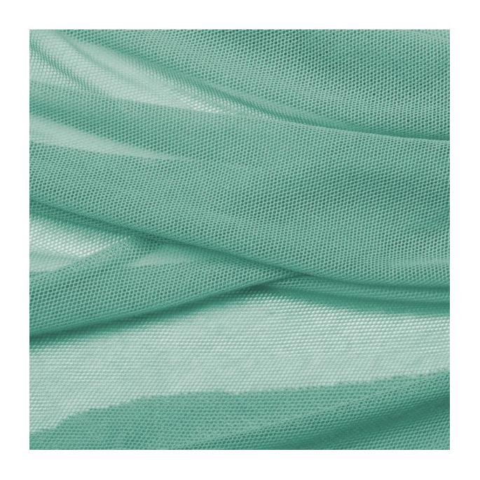 Organic cotton Mesh fabric Green