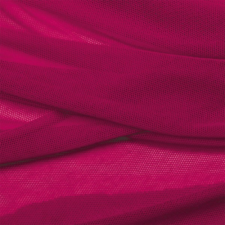 Organic cotton Mesh fabric Raspberry