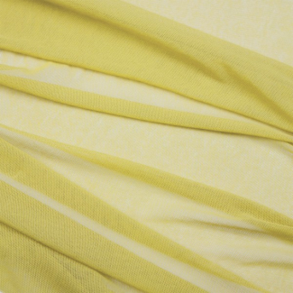 Organic cotton Mesh fabric Vanilla