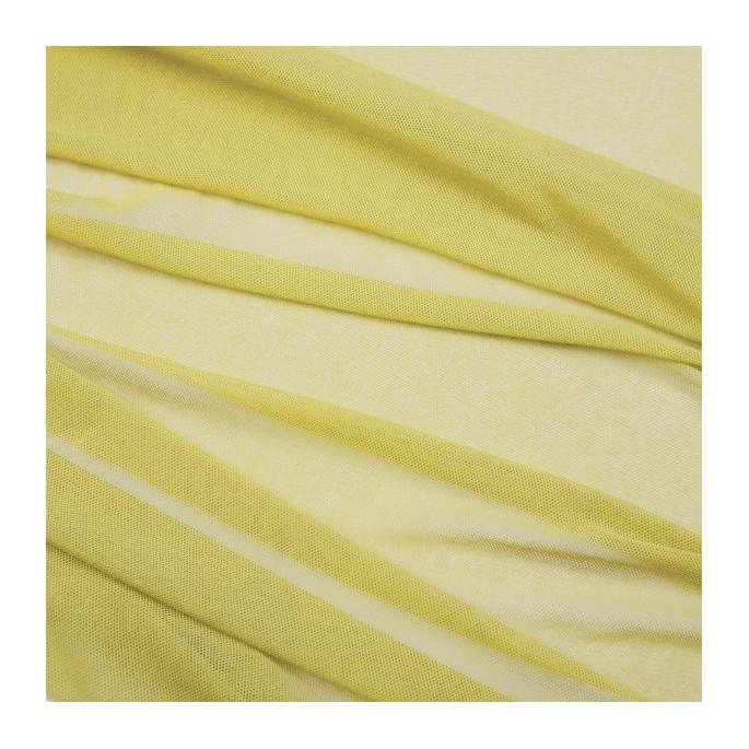 Organic cotton Mesh fabric Vanilla