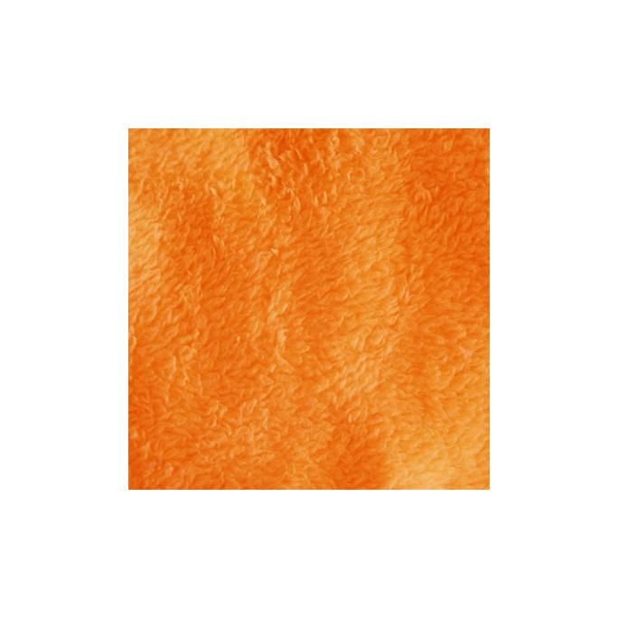 Teddy Oekotex - Orange - width 160cm (per meter)