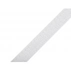 Scratch 3.8cm CROCHET seul Blanc (au mètre)