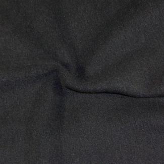 Micro Polaire Oekotex Noir laize 160cm (par 10cm)