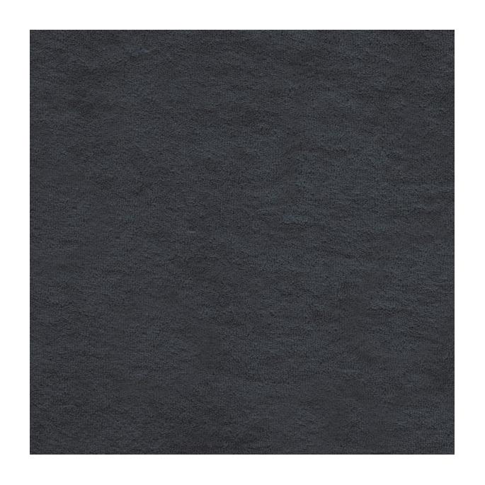 GOTS organic cotton micro loop terry Dark Grey