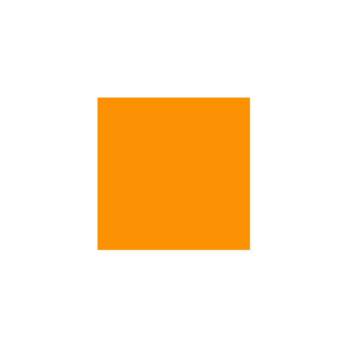 PUL Oekotex standard Orange Coupon de 50cm x 50cm