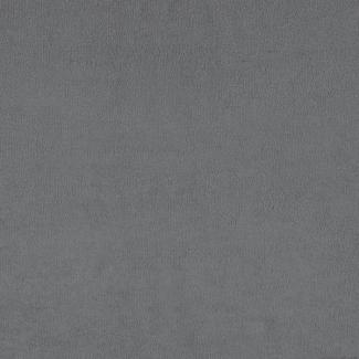 Grey organic cotton bath terry