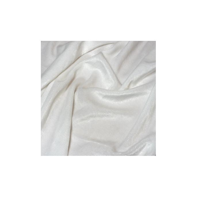 Velours de Bambou Blanc