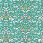 Organic cotton print Ethereal Jungle Tropical Form Cloud9
